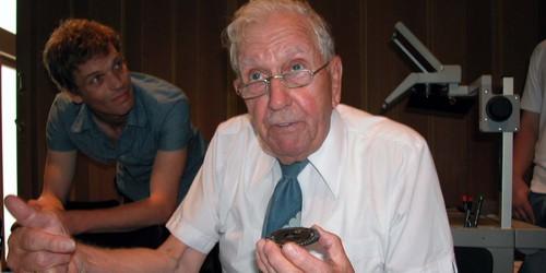 Oskar Stürzinger - im Gottlieb Duttweiler Institut 2002