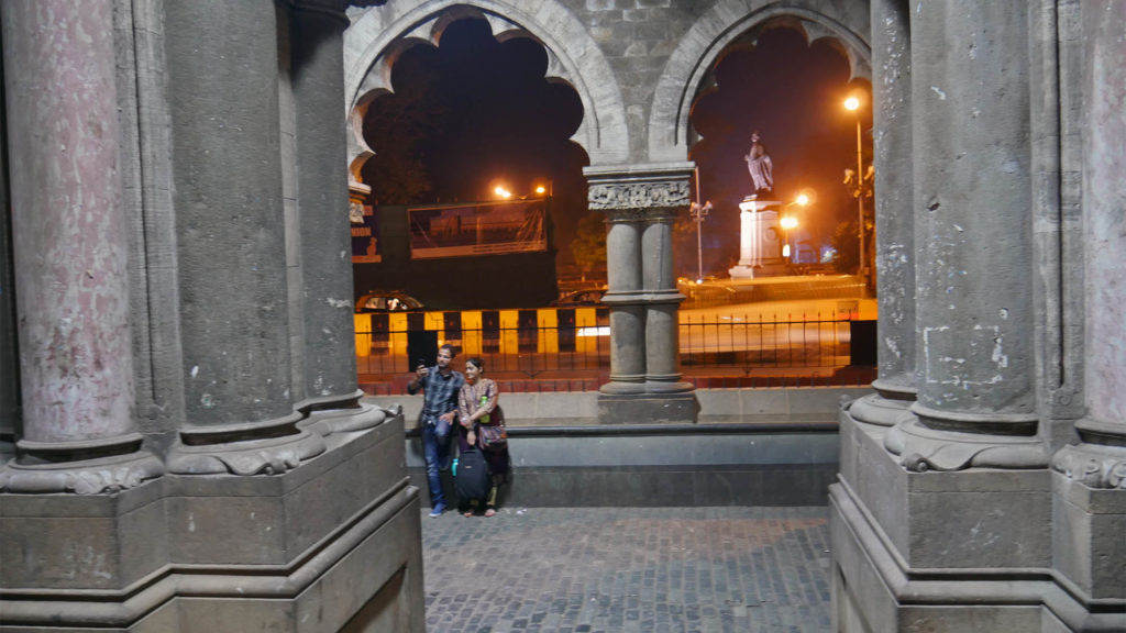 Mumbai Viktoria Station