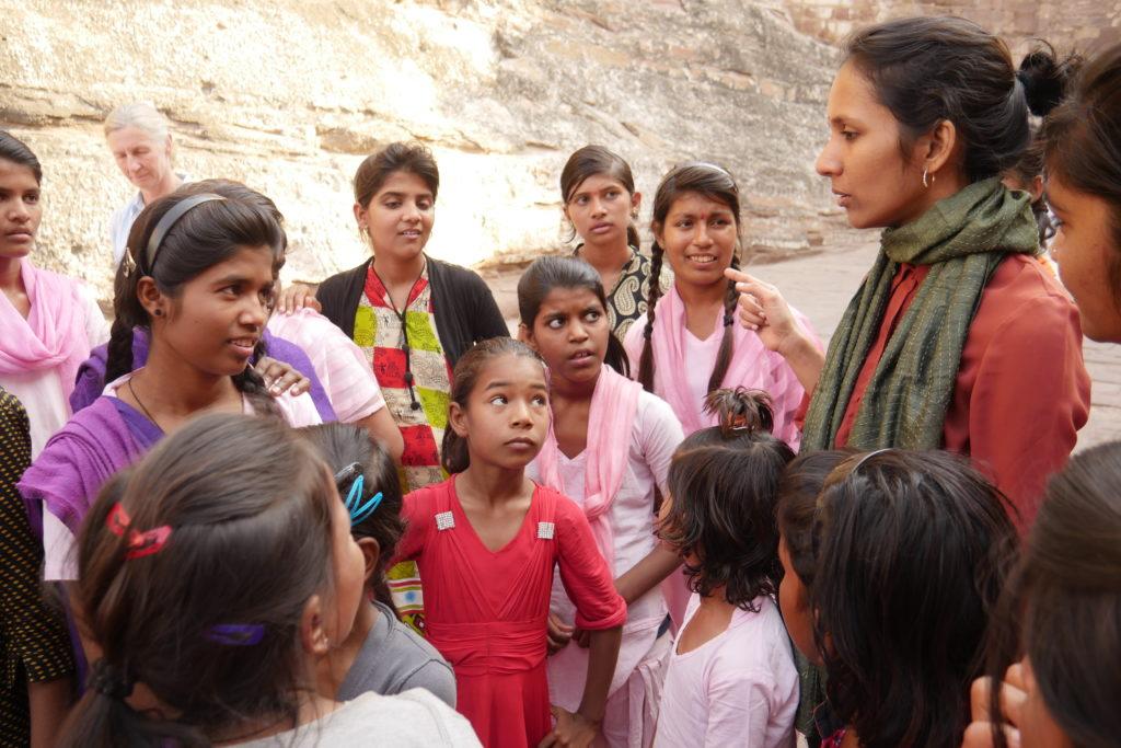 Mädchen in Jodhpur